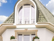 Французский балкон для загородного дома