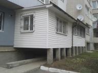 Вариант установки балкона на первом этаже