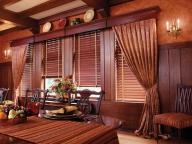 шторы из дерева в интерьере
