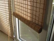 рулонные бамбуковые шторы