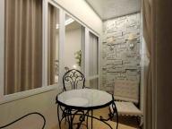 Использование декоративного камня в дизайне балкона