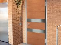 красивый дизайн входных дверей