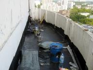 рулонная гидроизоляция балкона