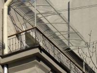 Вариант независимой крыши балкона