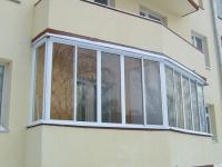 Однокамерное остекление балкона