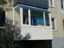 Остекление балкона пфх