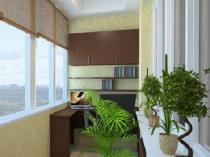Потолочный светильник для балкона