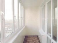 ПВХ отделка балкона