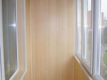 МДФ панели прекрасный материал для отделки балкона
