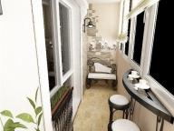 Оригинальный дизайн комнаты на баклоне