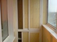 Балкон переделанный в кладовую