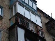 Остекление выносного балкона