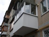 Так выглядит капитальный ремонт балкона