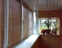 Жалюзи для балкона из бамбука