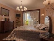 Еще один вариант спальни совмещенной с балконом